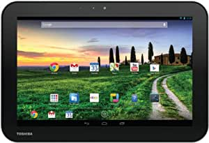 Toshiba AT10-A-104 25,7 cm (10,1 Zoll) eXcite Pure Tablet-PC (NVIDIA Tegra T30L, 1,2GHz, 1GB RAM, 16GB eMMC, Android OS) silber/schwarz