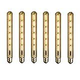 GreenSun LED Lighting 6er Nostalgie E27 T30-300 6W Glühlampe Retro