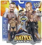 WWE Battle Pack CM Punk vs Undertaker Figures with Urn