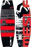 MESLE Wakeboard Flight 138 cm, Profi-Board mit Grind Base für Seilbahn und Boot