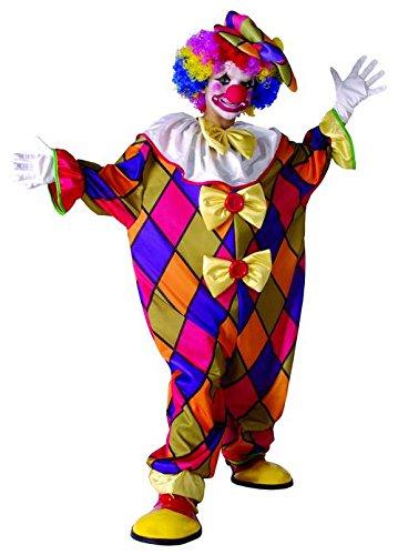 Generique - Clown-Overall für Kinder Zirkus bunt 134/140 (10-12 Jahre)
