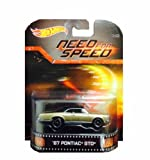 Hot Wheels Need For Speed '67 Pontiac GTO Die-Cast Retro Entertainment Series by Hot Wheels