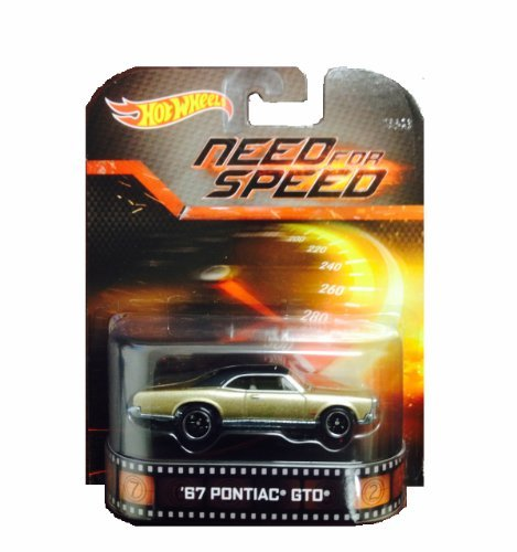 Hot Wheels Need For Speed '67 Pontiac GTO Die-Cast Retro Entertainment Series (Gto Wheels Hot)
