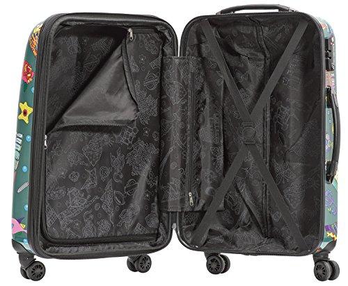 Packenger One World by Della Koffer, Trolley, Hartschale  Größe XL, 74 cm, 105 Liter, Olivgrün - 3