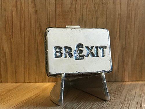 2Oz Silber brexit Bar (Edelstahldraht)