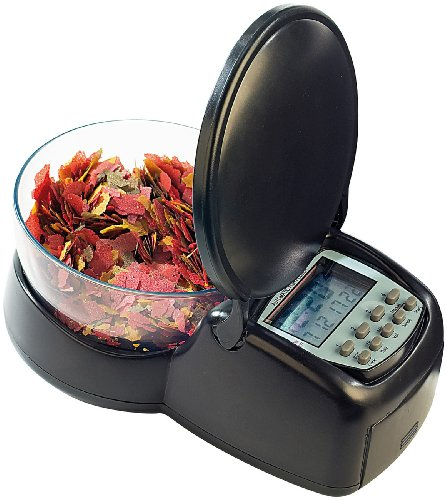 infactory Zeitgesteuerter Futter-Automat für Fisch-Aquarien - 2