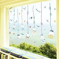 RUIPENGPENG Adhesivo de pared Adhesivo removible impermeable para Salón infantil guardería para bebés, las habitaciones están decoradas en una puerta ...