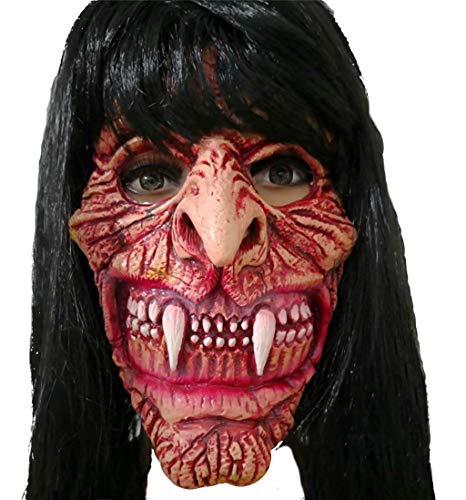 LYLLB-festival items Latex Horror Weibliche Zombie Maske Haube Halloween Party Kostüm Dekorative Maske