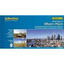 Rhein - Main Radatlas schönsten im Frankfurt & umg. GPS wp scale: 1/50