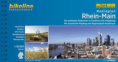 Radregion Rhein-Main. Die schönsten Radtouren in Frankfurt und Umgebung. Mit GrünGürtel-Radweg und Regionalpark-Rundroute, 960 km,  1 : 50.000, GPS-Tracks Download, wetterfest/reißfest