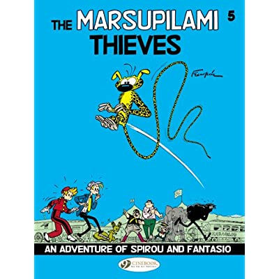 Spirou & Fantasio - tome 5 The Marsupilami Thieves (05)