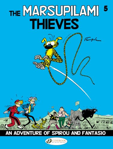 Spirou & fantasio t05 - the marsupilami thieves (Spirou & Fantasio 5)