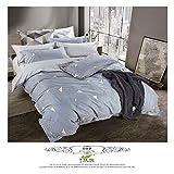Herbst und Winter Baumwolltextilien vier Stück Leinen Bettbezug Bettwäsche 27,1,8M