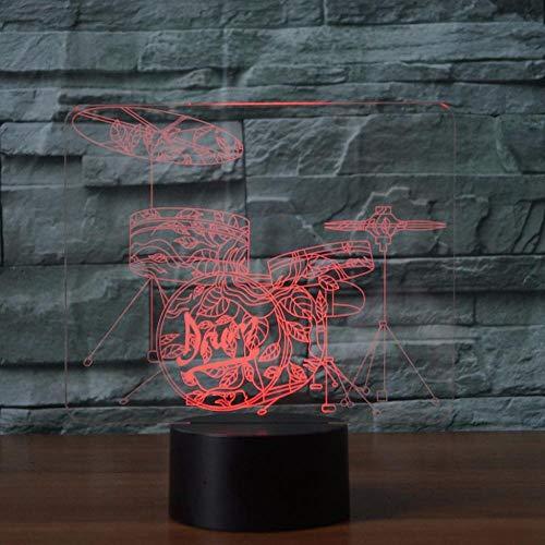 htlicht, 7 Farbe Usb Touch Tischlampe Led Visual Stereo Lichter Stimmung Lampen, Schlafzimmer Home Decor Kinder Spielzeug Geschenk ()