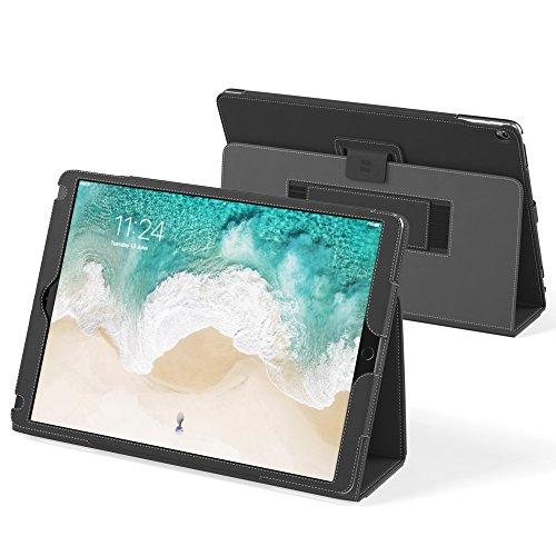 Snugg Schutz Klapphülle Case Cover mit Ständer für Apple iPad Pro, Schwarz