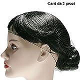 COSE DI DONNA® Accessori Bagno Cuffie e retine Retina capelli scura.