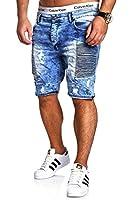 MT Styles Biker Jeans-Bermuda Shorts RJ-2285
