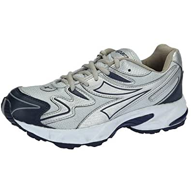 Sparx Men's Navy Blue and Silver Running Shoes - 6 UK (SM-20)