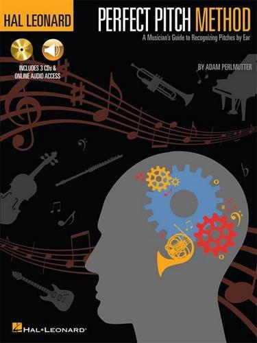 HAL LEONARD Hal Leonard Perfect Pitch Methode-Book/3-cd Pack mit Online-Audio Audio-pack