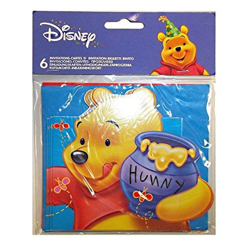 Procos - Winnie Pooh Einladungskarten