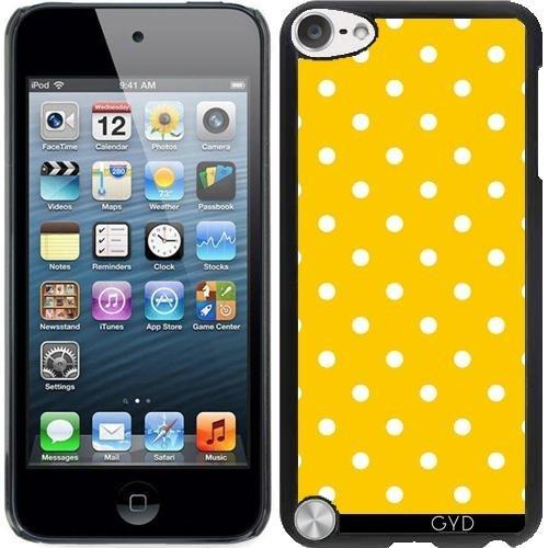 Hülle für Ipod Touch 5 - Polkadots Gelb by JAMFoto Ipod Touch 5 Fällen Polka Dot