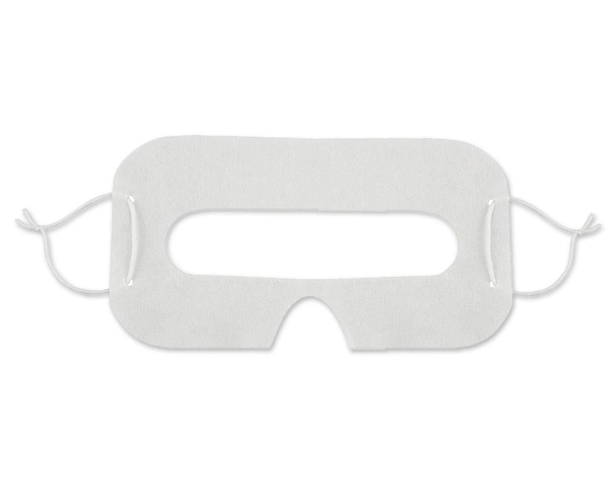 DSstyles VR Masques à yeux jetables 20 pièces Masques faciaux à l'hygiène pour les yeux Couvercle universel pour HTC VIVE, PSVR Playstation VR, Oculus Rift