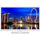 HAIER L24V100W TV LED HD 61 cm (24'') - 2 X HDMI - Classe énergétique A+ - Blanc
