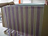 SZIVYSHI Remasuri Aluminium Metall Kette Vorhang Bildschirm Fly Insektenschutz-Rollos Pest Control Vorhang – 10 Jahre