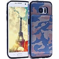 Galaxy S7 Silicone Case,Asnlove Custodia Cover Ecopelle