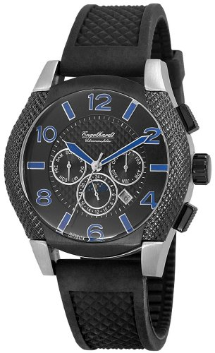 Engelhardt Men's Automatic Watch 387721229016 with Leather Strap