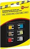 Fixpoint 20356 Sicherungssortiment, Kfz Sicherungen Mini, 6-teilig