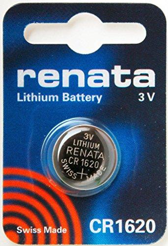 CR1620 Batteria Pulsante / Litio 3V / per Orologi, Torce,