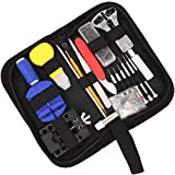 147PCS Watch Repair Tool Kit Case Professional Watch Akku Ersatz Werkzeug Reparatur Quarz/Mechanische Armbanduhr
