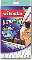 Vileda 10919 UltraMat Wischbezug - für saubere und streifenfreie Böden - auch auf Laminat und Parkett - passend zum UltraMat Bodenwischer - bekannt aus TV