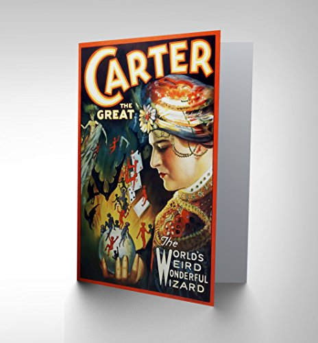 carter-the-great-the-magician-advertising-birthday-blank-greetings-card-cl1038