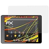 atFolix Schutzfolie kompatibel mit Blaupunkt Endeavour 785 Displayschutzfolie, HD-Entspiegelung FX Folie (2X)