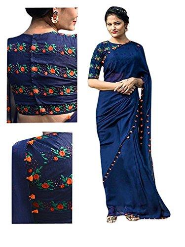 Saree(Yashraj Export Saree For Women Party Wear Half Sarees Offer Designer Below...