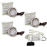 3er Set LED Einbauleuchte Moebelleuchte Einbaustrahler 3W HIGH LED SMD