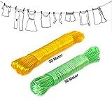 Clothesline Wet Cloth Laundry Rope PVC C...