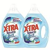 XTRA 2en1 Minidou  - Lessive Liquide et Adoucissant - Lot de 2 x 1,95L - 78 Lavages