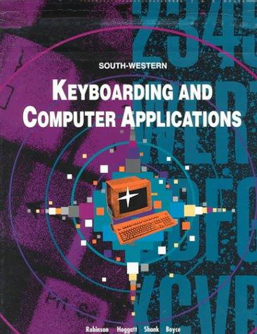 Keyboard & Computer Applictns por Robinson