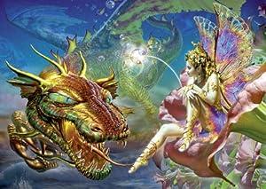 Schmidt 58118 - Puzzle de Hada y dragón (1000 Piezas)