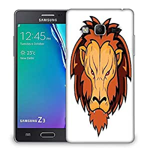 Snoogg lion mascot Designer Protective Back Case Cover For Samsung Galaxy Tizen T3