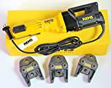 REMS Power Press E + 3 ganasce pressare V M anche tagli S
