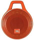 JBL Clip+ Speaker Bluetooth, Portatile, Ricaricabile a Prova di Spruzzi con Ingresso Aux-In, Microfono per Chiamate in Vivavoce, Compatibile con Smartphone/Tablet e Dispositivi MP3, Arancio immagine