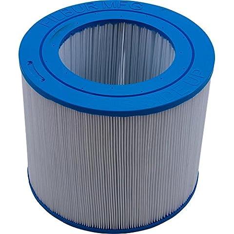 Filbur FC-0684 50 Sq. Ft. Filter Cartridge - Spa Filtro Antimicrobica