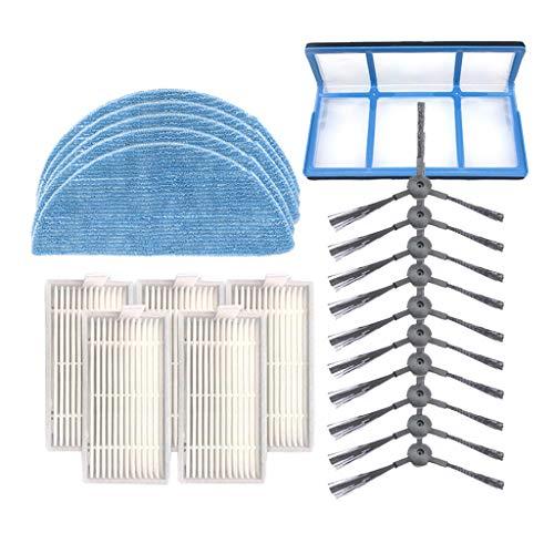 Webla-Mop Filterbürstenfilter für Ilife V5SPRO V50 V5S Kehrmaschine