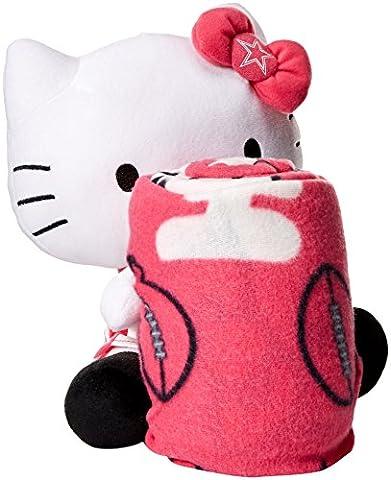Société du Nord-ouest NFL Dallas Vache/Hello Kitty Hugger Couvre-lit, rose, 40 x 50-Inch