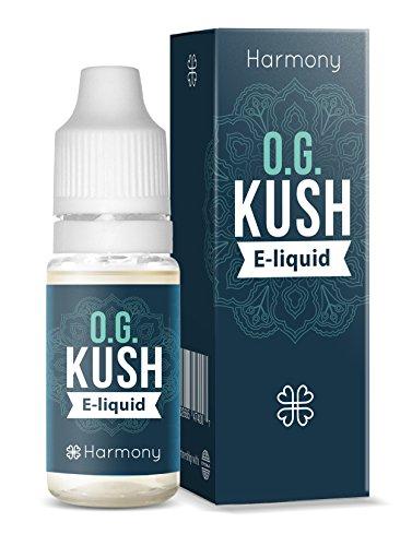 *Harmony CBD Liquid mit 100mg CBD – 10ml – O.G. Kush Geschmack (nikotinfrei)*