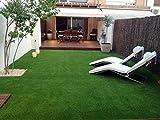 #6: Kuber Industries™ Artificial High Density Grass Carpet For Floor, Balcony,Lawn,Door (6.5 X 2 FEET)